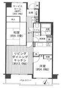 ステイツ武蔵新城市民プラザ通り -間取り図